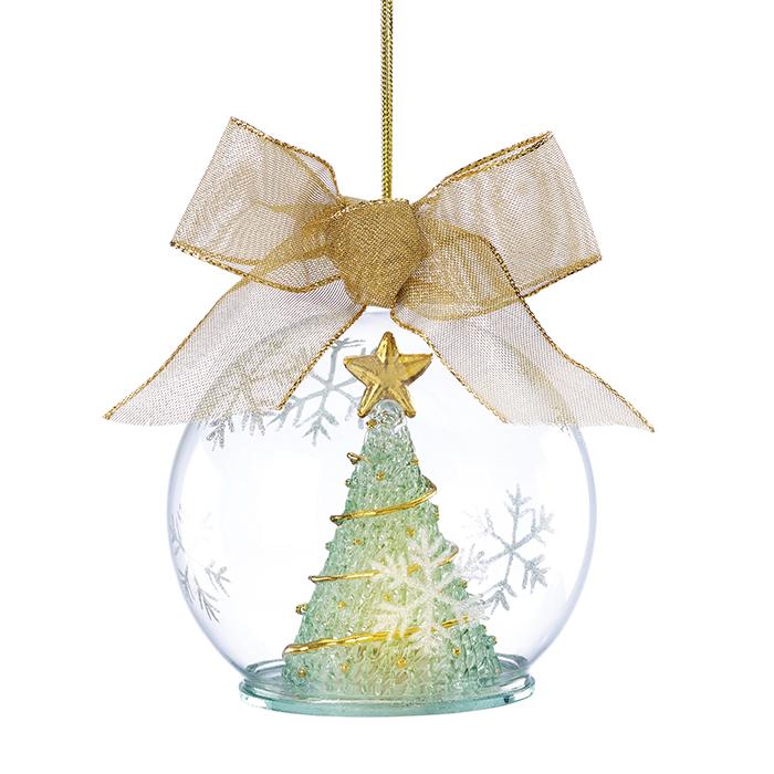Lenox Lighted Wonder Tree Ball Ornament  聖誕樹玻璃裝飾球  $22.99  bedbathandbeyond.ca  604 904 1118