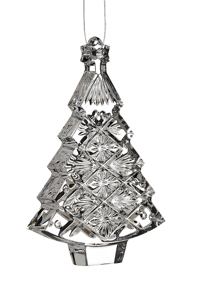 Waterford Christmas Tree Ornament  水晶聖誕樹掛 件 $28.99  bedbathandbeyond.ca  604 904 1118