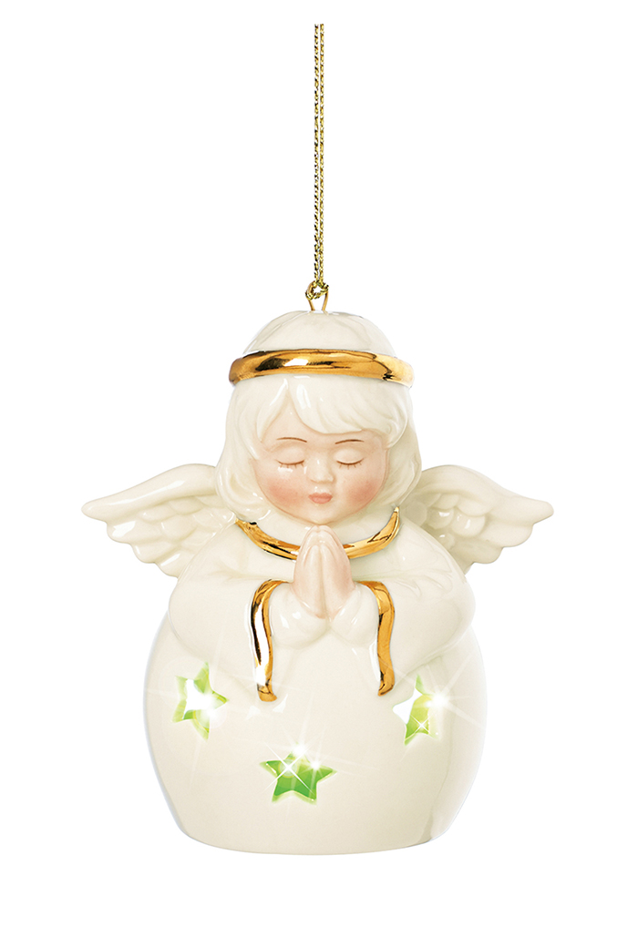 Lenox Angel Color Changing Lit Ornament  瓷質天使掛件  $22.99   bedbathandbeyond.ca  604 904 1118