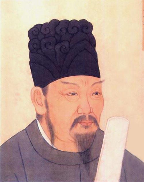 清殿藏本李靖畫像