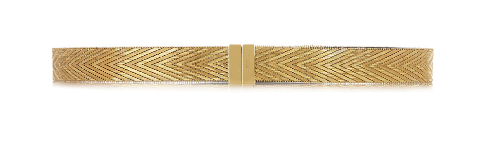 Givenchy Waist Belt in Gold Tone Brass 紀梵希腰帶 US$2,550