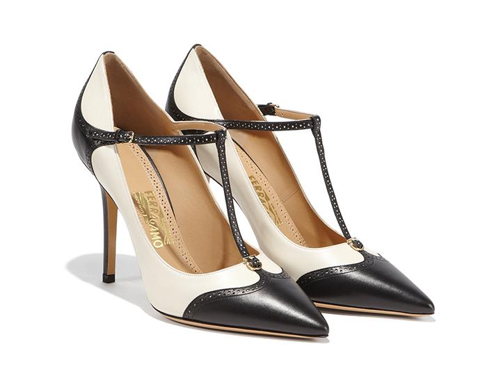 Salvatore Ferragamo T-Strap Pump  菲拉格幕高跟鞋  $685