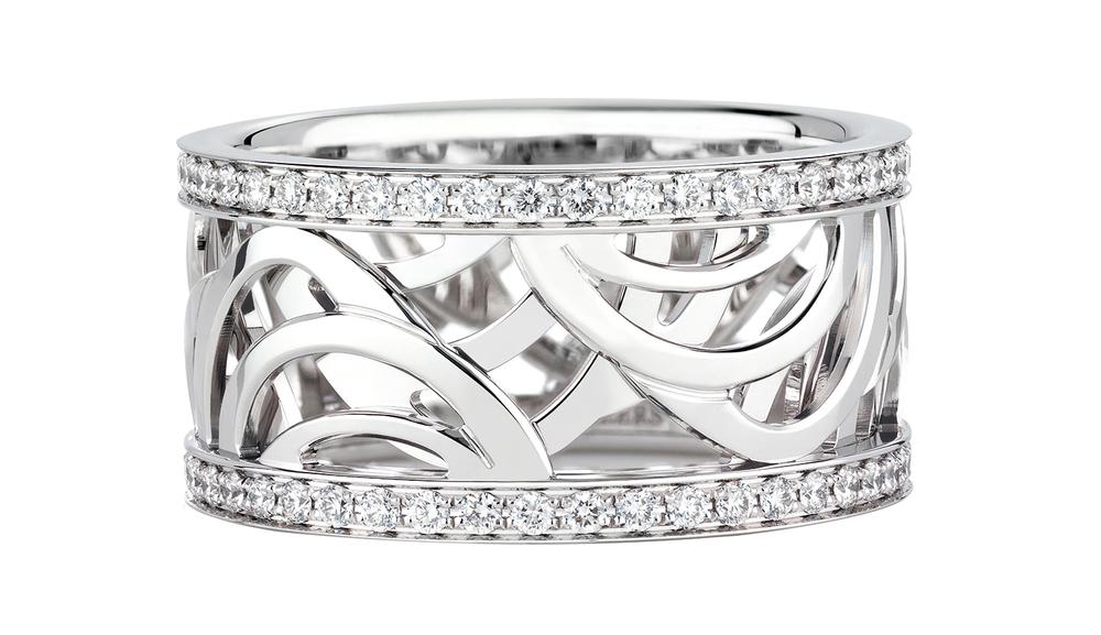 De Beers Aria Band 戴比爾斯鑽石手環 US$3,850
