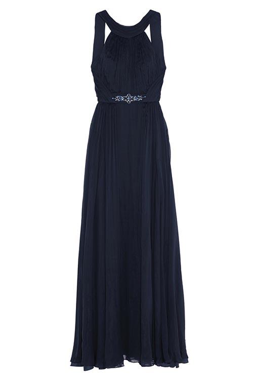Matthew Williamson Silk Chiffon Keyhole Evening Gown 馬修.威廉姆森晚禮服 US$2,995