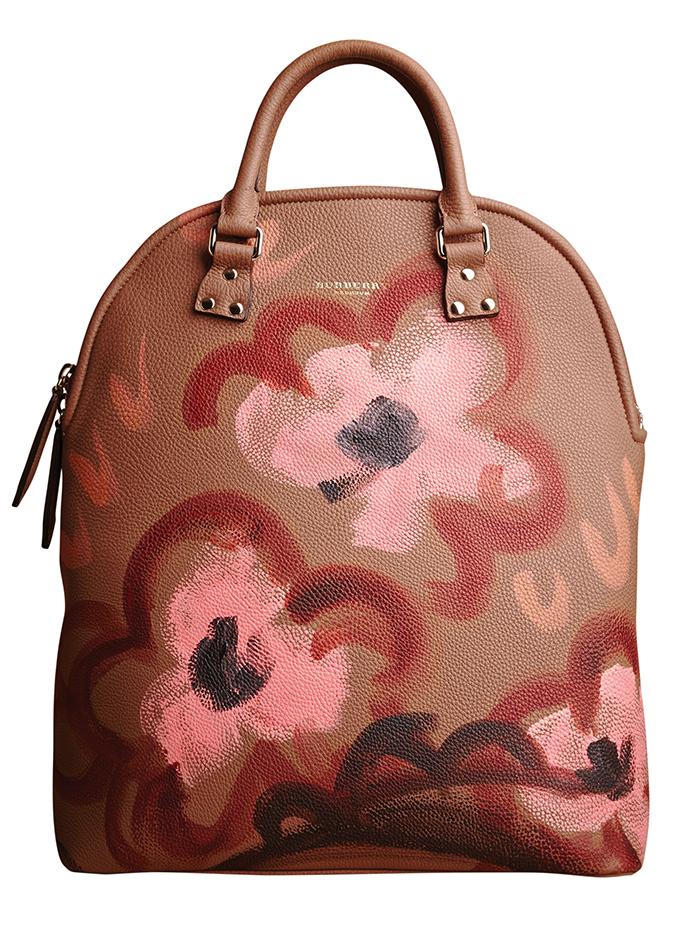 Burberry Bloomsbury Leather Bag  巴寶莉真皮手袋  $4,395