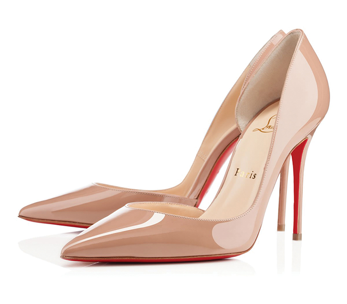 Christian Louboutin Patent Leather Pumps 克里斯提.魯布托真皮高跟鞋 US$675