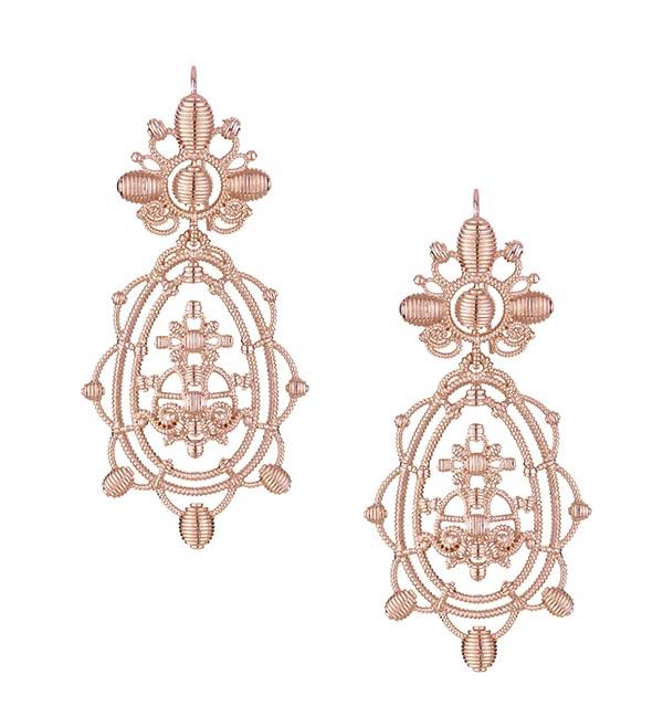 Vivienne Westwood Isolde Earrings 薇薇安.威斯特伍德耳環 US$320