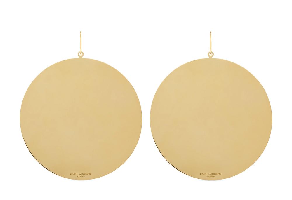 Saint Laurent Formes Simples Ronde Earrings 聖羅蘭耳環 US$795