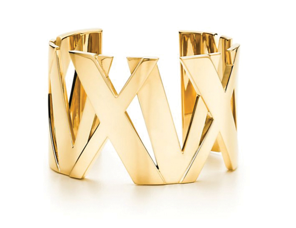 Tiffany & Co Atlas Wide Cuff  蒂芙尼手環  $13,900