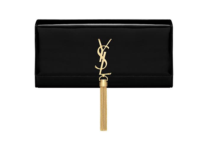 Saint Laurent Classic Monogram Tassel Clutch  聖羅蘭手袋  US$1,390