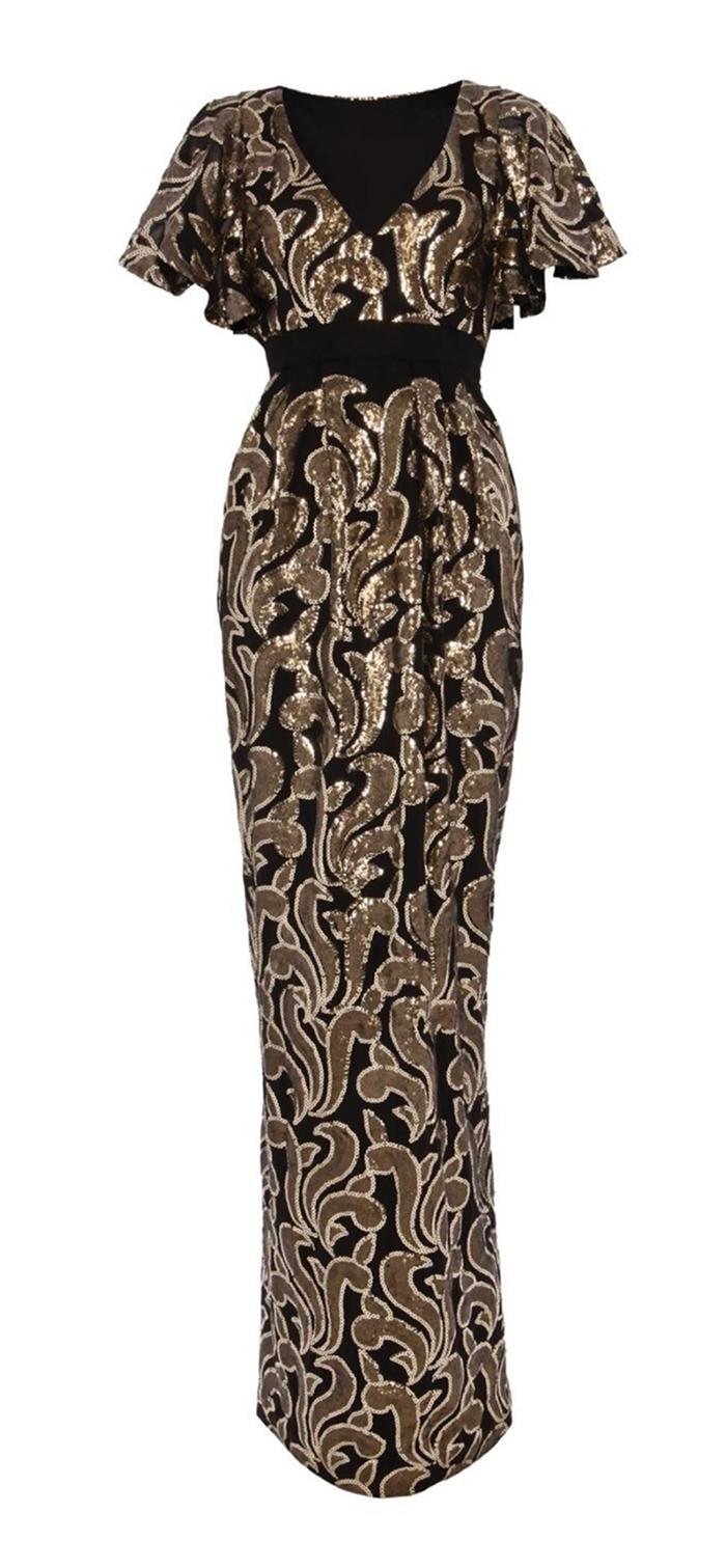 Temperley London Long Phoenix Dress 坦波麗倫敦連身裙 US$795