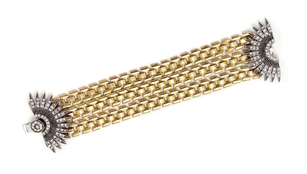 Lulu Frost Cut-Steel Bracelet 露露.弗羅斯特金屬切面手鍊 US$395