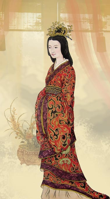 東漢「光烈皇后」陰麗華。