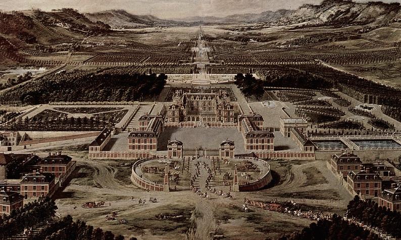 凡爾賽宮(維基百科)。