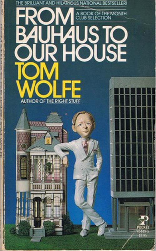 Francesca最喜歡的書是Tom Wolfe的《From Bauhaus to Our House》,這本書曾在建築裝飾領域引起過關注和爭議。