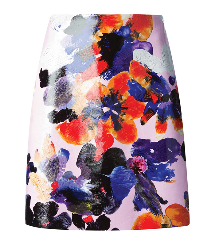 Msgm Flower Print Skirt 印花裙 $658