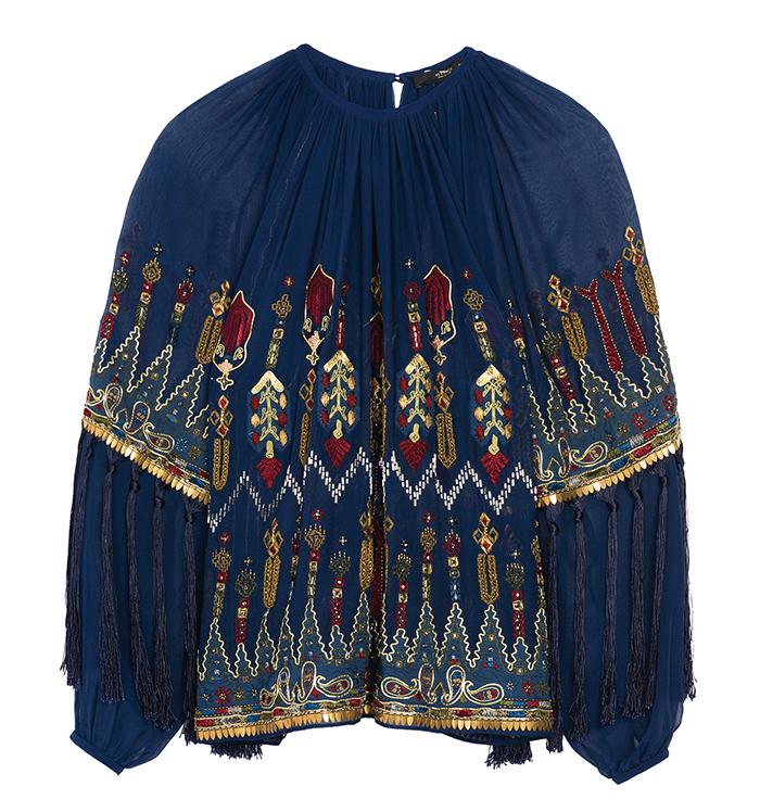 Etro Peasant top 艾绰上衣 $4,485