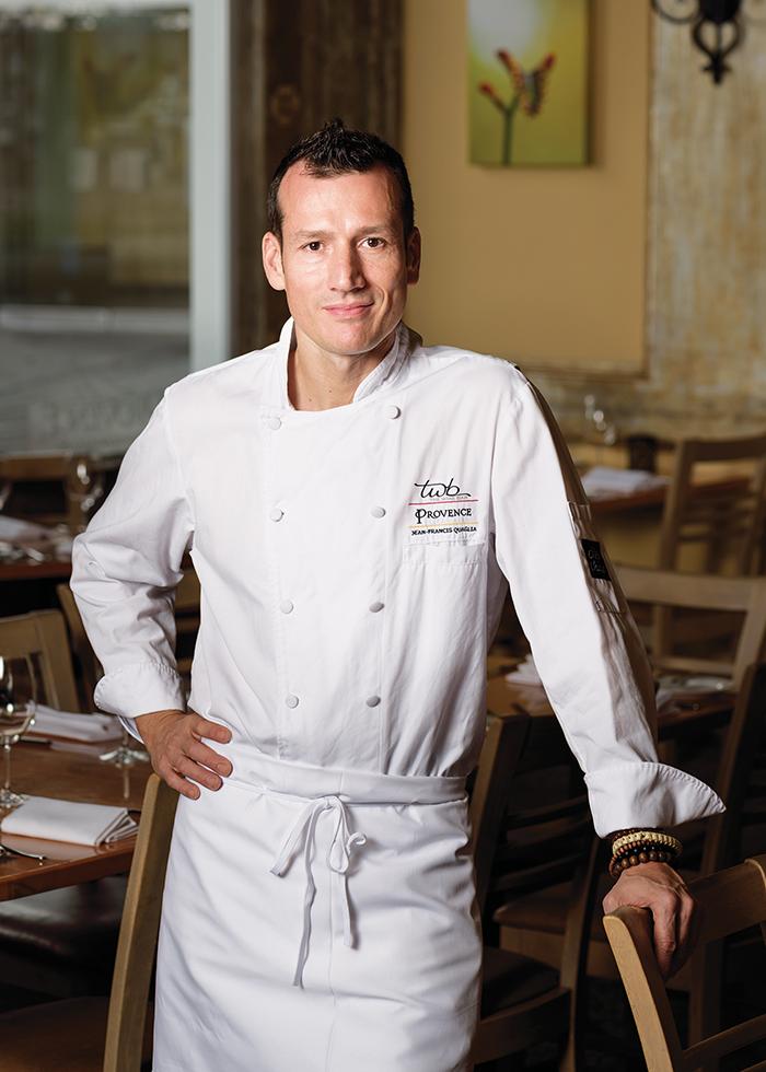 """""""普羅旺斯新世界""""飲食公司(New World Provence)大廚Jean-Francis Quaglia。"""