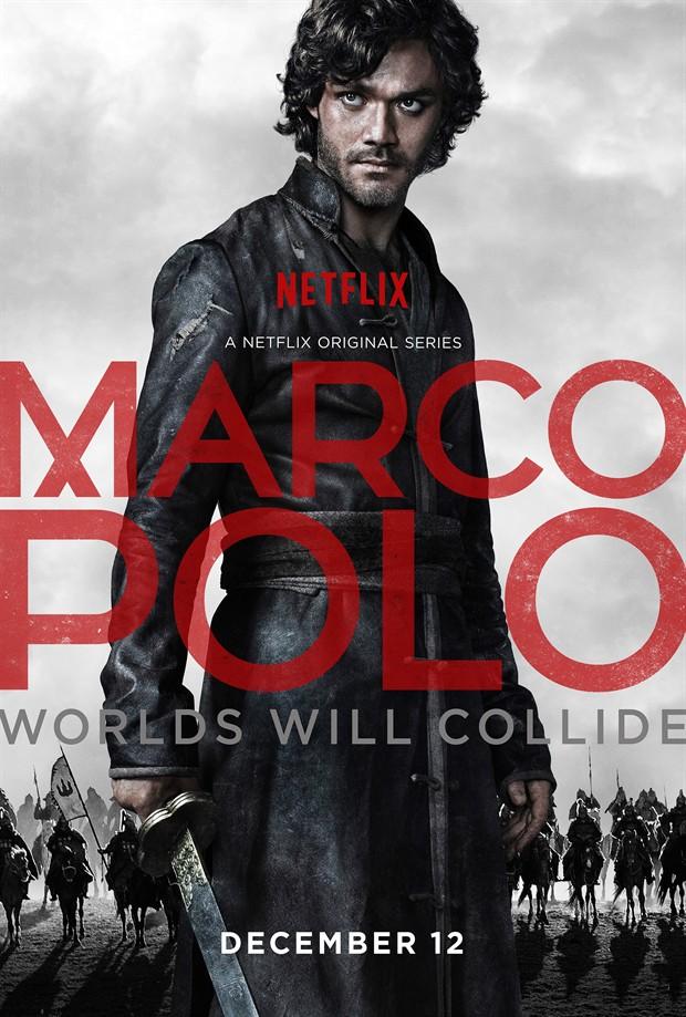 Netflix2014年末史詩級巨製《馬可波羅》已上線