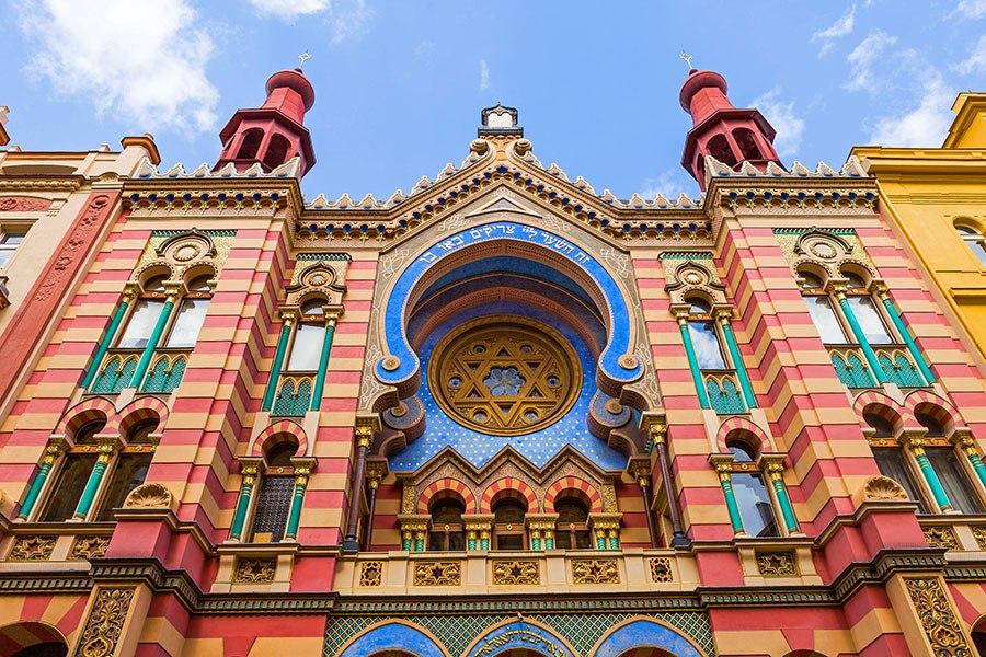 銀禧猶太教堂 - 位於捷克首都布拉格,始建於1906年