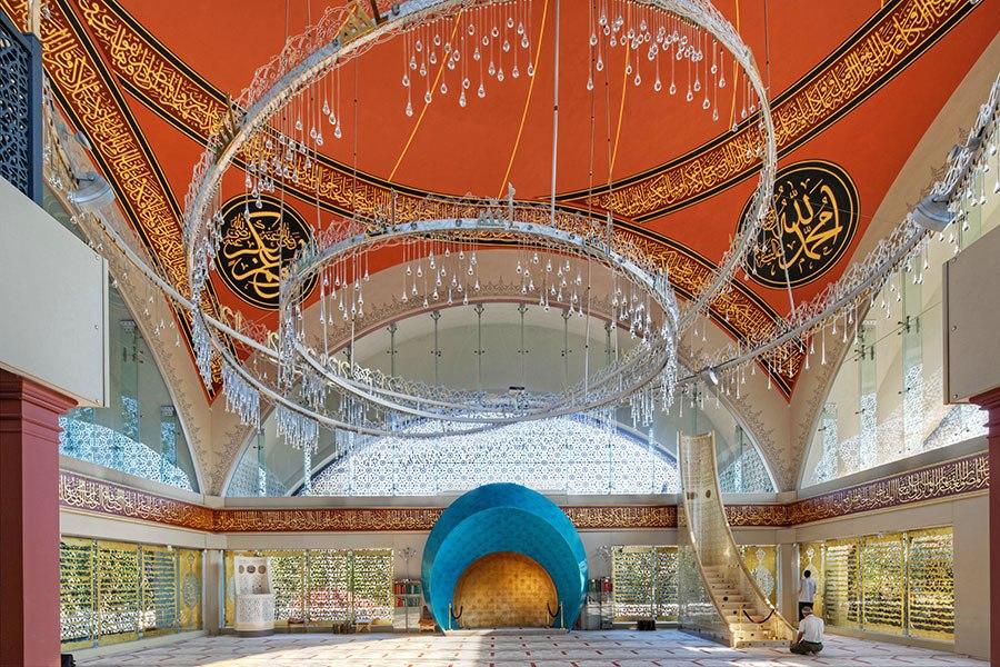 沙基林清真寺 - 位於土耳其伊斯坦布爾,落成於2009年