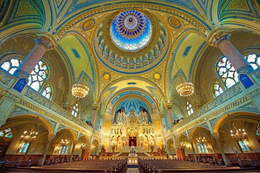 賽格得猶太教堂 - 匈牙利,建於1907年。
