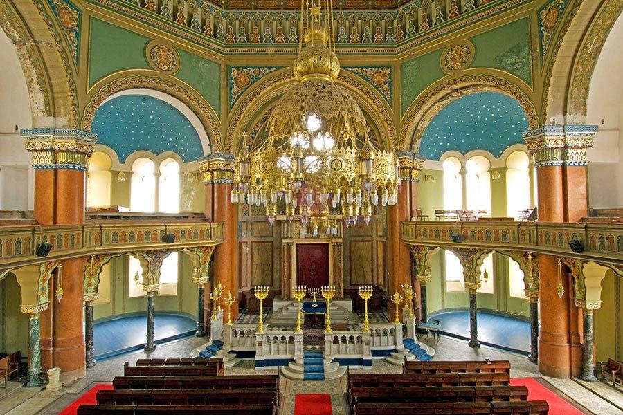 索菲亞猶太教堂 - 位於保加利亞,建於1909年。