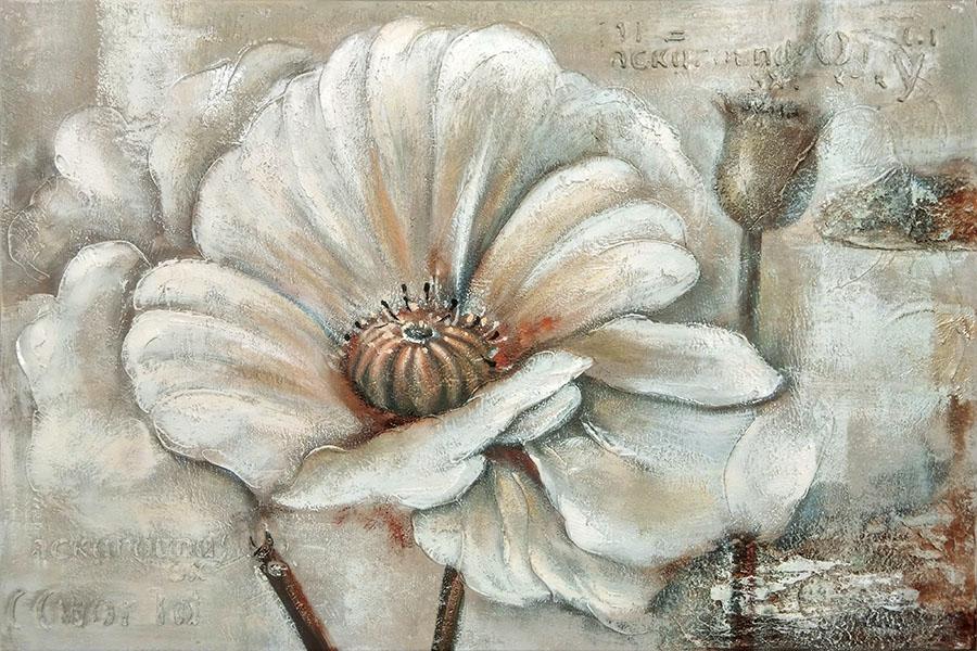 Moe's White Perennial I Wall Décor , $205 中性柔和的色調,讓鮮花綻放得格外靜謐,成為家中一道祥和的風景。 At Moe's Home Collection, 604 688 0699  moeshome.ca