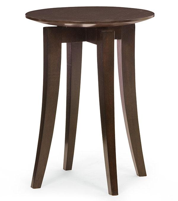 Bernhardt Furniture Mercer Chairside Table , $499 硬朗的桌腿透著穩健和堅定,精巧的圓形桌面如懸浮起來,演繹出天圓地方的東方理念。 At Paramount Furniture, 604 273 0155  paramountfurniture.ca