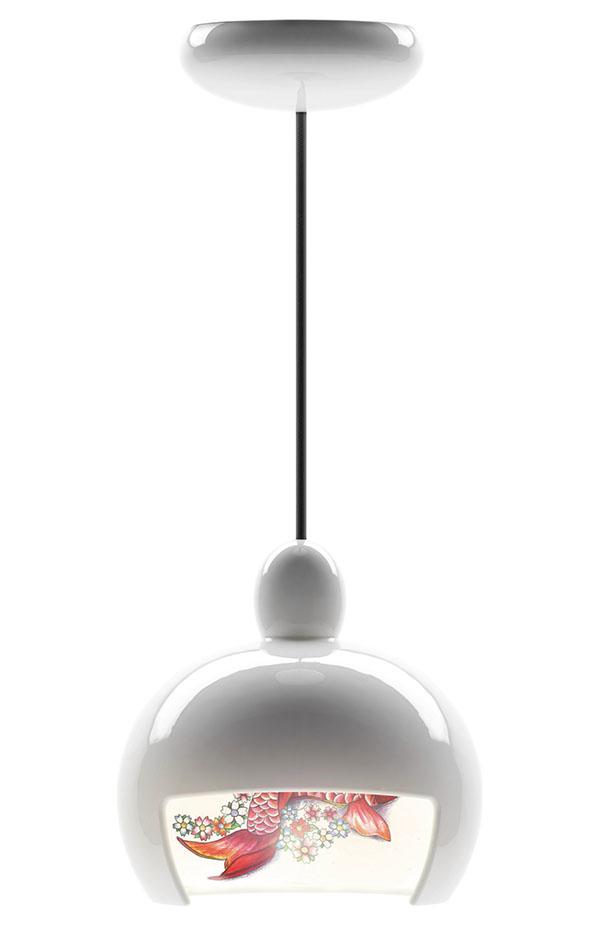 Moooi Juuyo Koi Carp Tattoo 鯉魚圖案吊燈, $1,059 livingspace.com, 877 683 1116