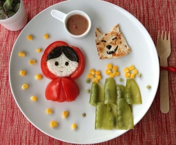 Creative Children's Meal