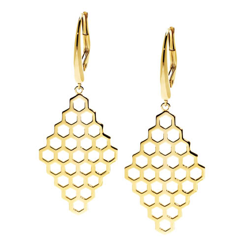 Birks Bee Chic™ Medium Drop Earrings 耳環 $1,695 At Birks Boutiques