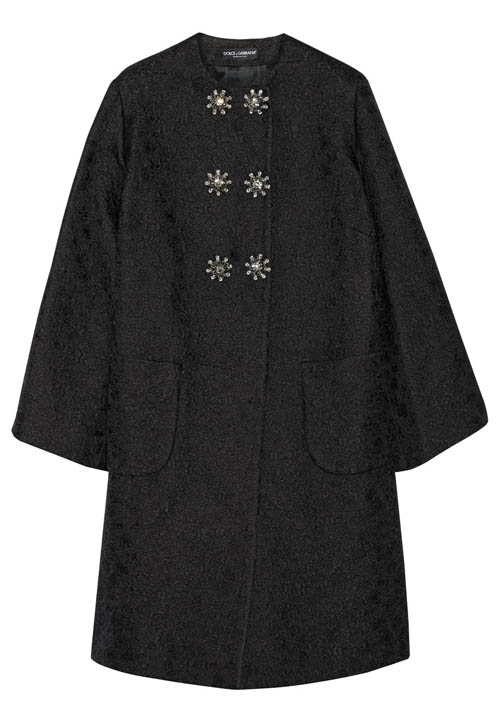 Dolce & Gabbana Coat 杜嘉班納大衣 US$6,275 At Net-a-porter.com