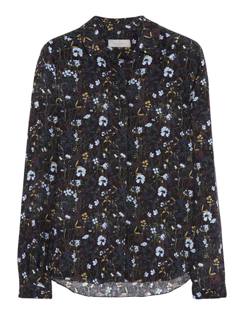 Mulberry Silk Blouse 瑪百莉絲製上衣 $850 At Mulberry Boutiques