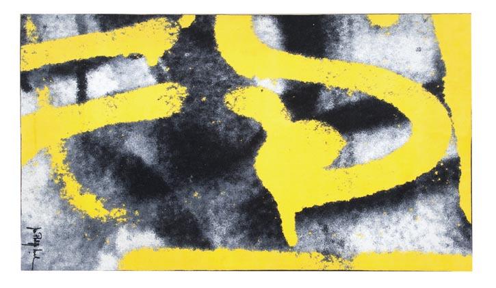 Roche Bobois Beijing Rug, $2,695 寫意的潑墨圖案帶來輕鬆與灑脫的氛圍,又易於搭配,明亮的黃色更添陽光活力。 At Roche Bobois, 604 633 5005  roche-bobois.com