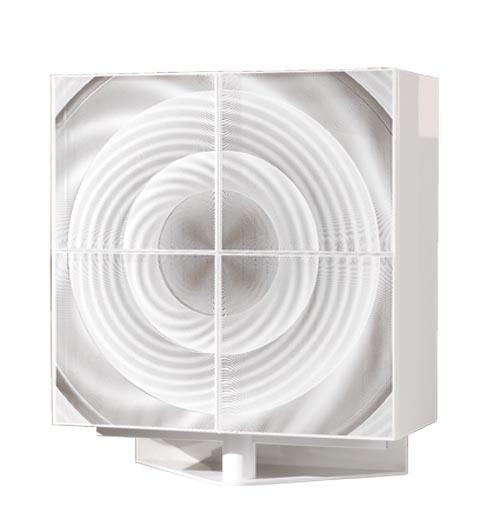 Roche Bobois OPTO 4-Door Dresser 踏實的金屬底座支撐起櫃門上奇幻的圖案,如同在房間裏打開了神秘的時空隧道,現代科技感呼之欲出。 At Roche Bobois, 604 633 5005 roche-bobois.com