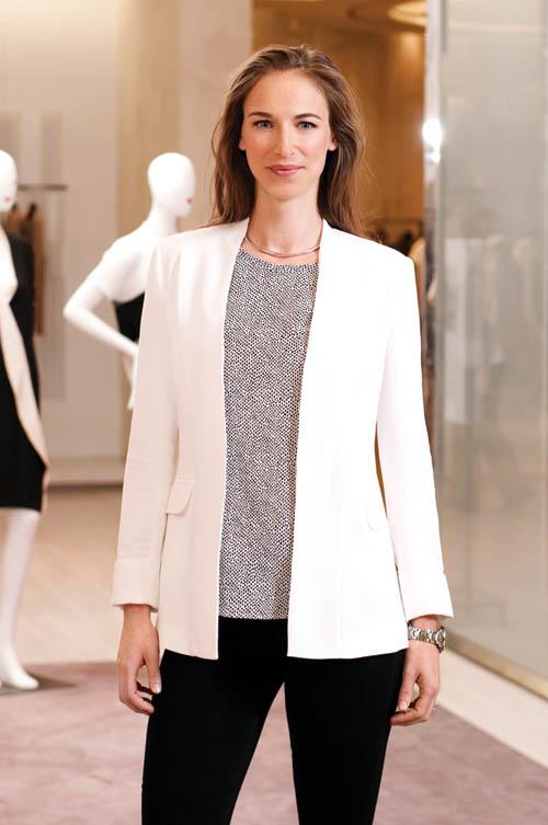 Holt Renfrew的品牌戰略總監 Alexandra Weston
