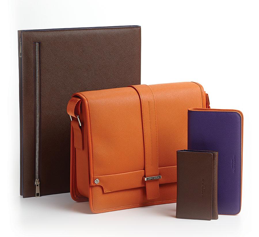 Campo Marzio成功地將自己的產品線擴展至皮革製品領域,這為商務人士繁忙的日程添加了一抹時尚亮彩。