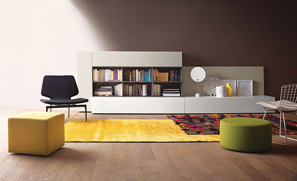 LEMA Collection T030 Shelving Systems   At Livingspace, (877) 683-1116,  livingspace.com