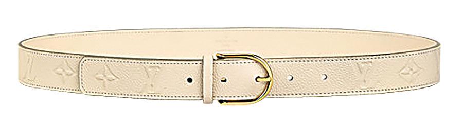 Louis Vuitton Gracieuse Belt 路易.威登皮帶 $645