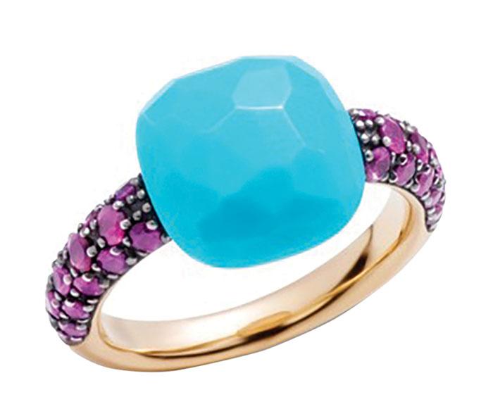 Pomellato Capri Turquoise Ring 寶曼蘭朵藍松石戒指 Price Upon Request