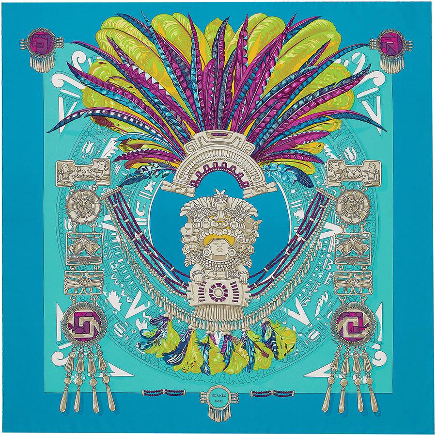 Hermès Mexique Scarf 愛馬仕絲巾 $420