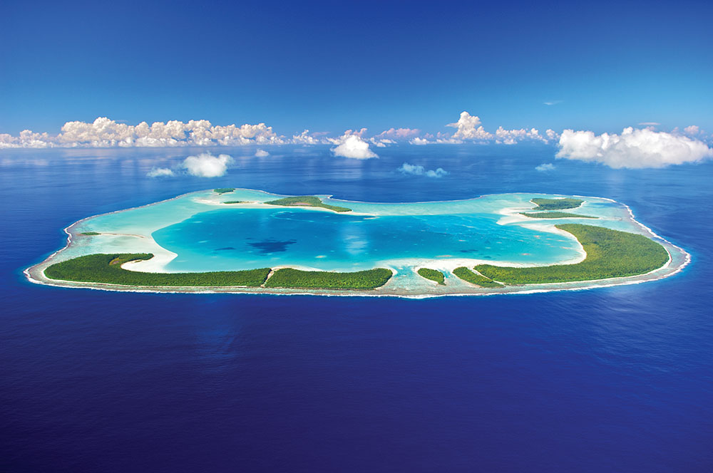 Tetiaroa是奢華和隱秘的度假天堂。