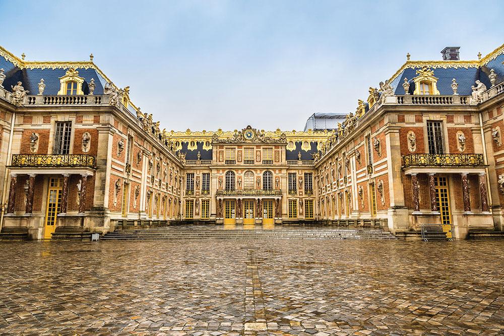 1682年到1790年,凡爾賽宮是法國國王的正式居所。