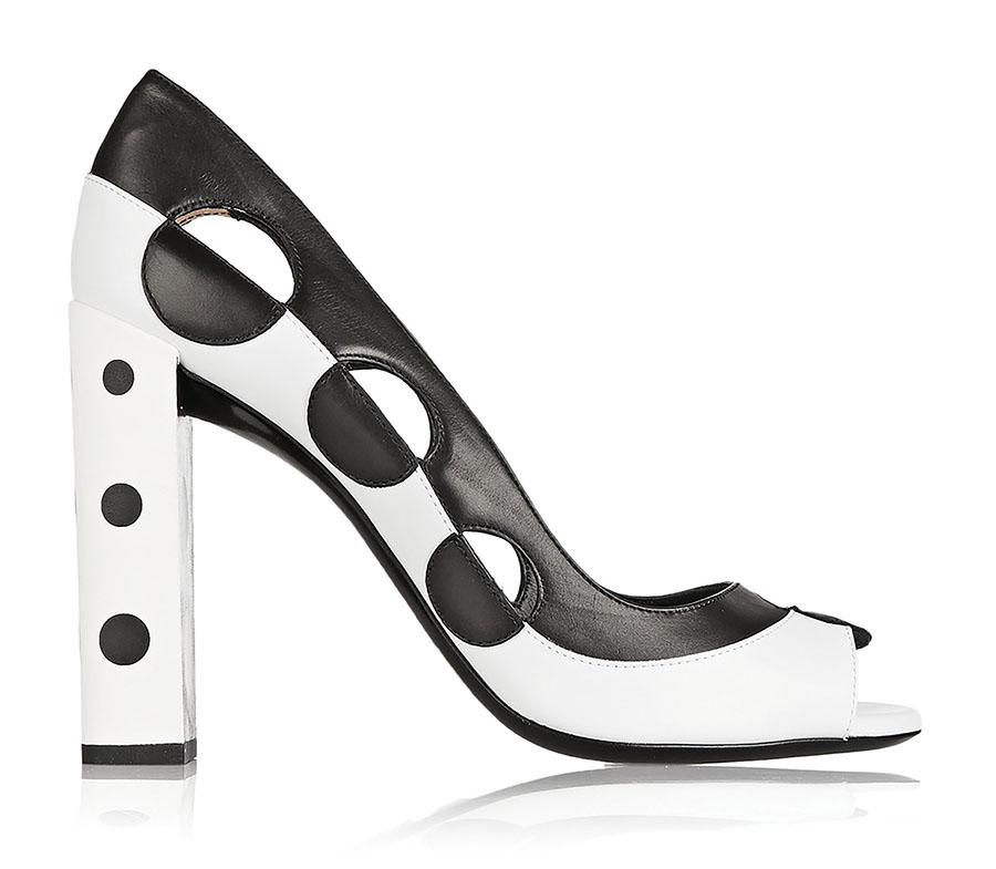 Fendi Two Tone Pumps   芬迪雙色方根鞋 US$1,299