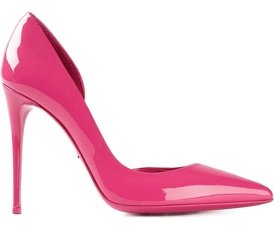 Dolce & Gabbana Pumps     杜嘉.班納橙粉高跟鞋 US$745