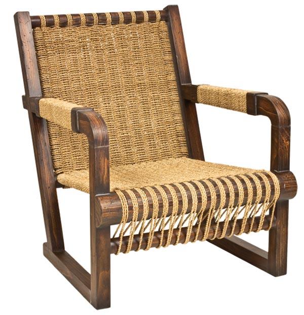 Ralph Lauren Home Joshua Tree Chair, $2,395木材表面被處理成如古董家具般摩挲發亮的包漿效果。敦厚的結構,細密的編織,安穩可靠如一位多年的老友。   At Jordans Interiors, 604 733 1174    jordans.ca