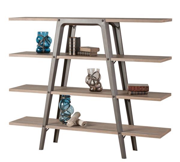 Roche Bobois Fusion Bookcase Shelf, Price Upon Request 堅固的金屬支架托起四層木質隔板,簡練粗獷的構造因比例和細節的打磨而顯出現代精緻。 At Roche Bobois, 604 633 5005 roche-bobois.com