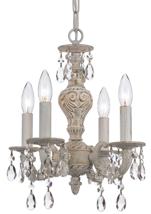 Barrymore Furniture Antique White Mini Chandelier, Price upon Request 華麗的水晶、精美的雕刻與一層懷舊的色調碰撞出強烈的戲劇效果,一縷歲月留下的深邃印跡凝久不散。 At Jordans Interiors, 604 733 1174 www.jordans.ca