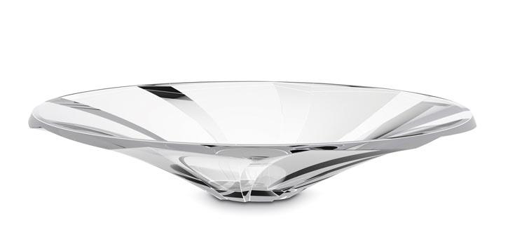 Baccarat Objectif Bowl, $934 水晶盤 At Atkinson's,  atkinsonsofvancouver.com  604 736 3378